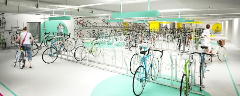 Visualisierung Fahrradstation Süd